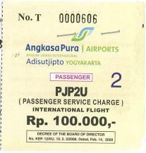 Airport Tax Adisucipto YOG