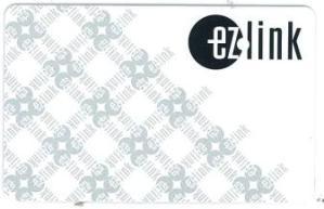 EZ link card front