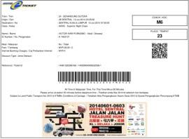 Tiket Senandung Sutera VHP