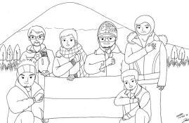 Karikatur Semeru